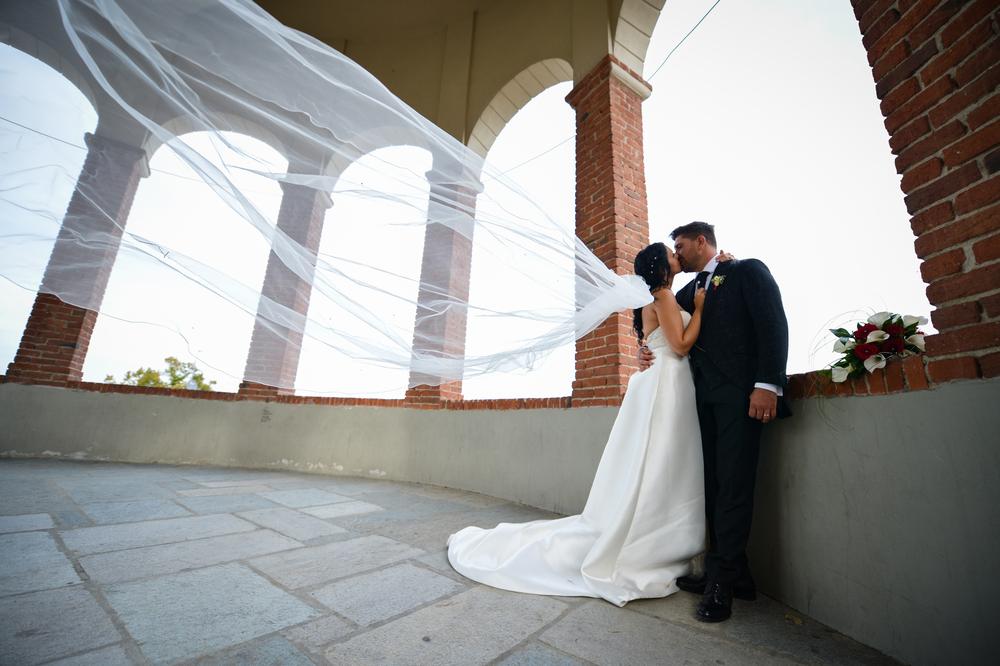 La scelta del velo da sposa